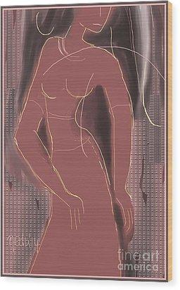 Untitled 369 Wood Print by Nedunseralathan R