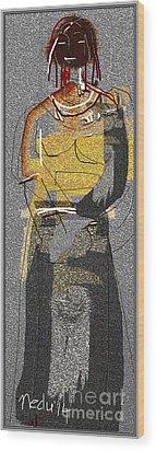 Untitled 413 Wood Print by Nedunseralathan R
