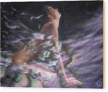 Venus Rising Wood Print by Gun Legler