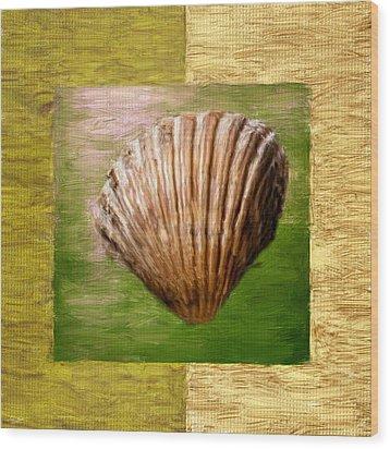 Verde Beach Wood Print by Lourry Legarde
