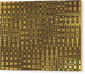 Vertical City Wood Print by David Winson