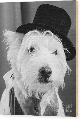 Veteran Vaudeville Stage Actor Wood Print by Edward Fielding