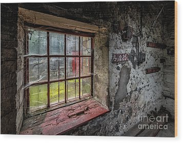 Victorian Decay Wood Print by Adrian Evans