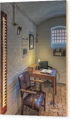 Victorian Jail Office Wood Print by Adrian Evans
