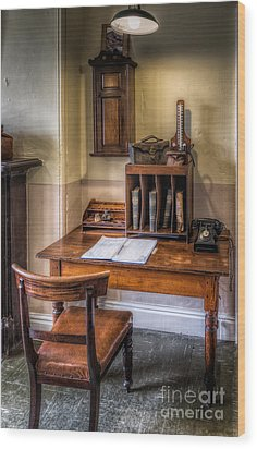 Victorian Medical Office Wood Print by Adrian Evans