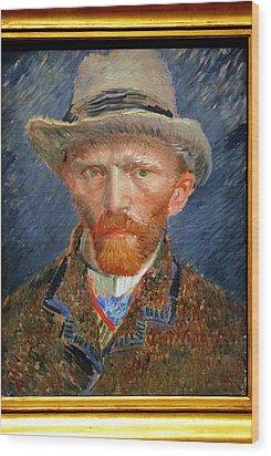 Vincent Van Gogh. Wood Print by Vincent Van Gogh