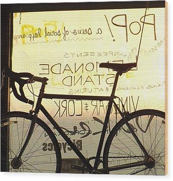 Volker Bicycles Wood Print by Elizabeth Sullivan