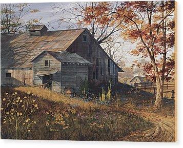 Warm Memories Wood Print by Michael Humphries