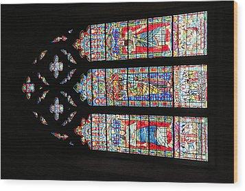 Washington National Cathedral - Washington Dc - 011397 Wood Print by DC Photographer