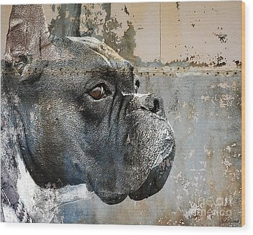 Watchful Wood Print by Judy Wood