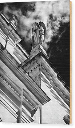Watching Over Fatima Wood Print by John Rizzuto