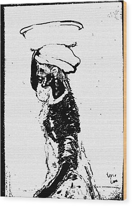 Water Barer Wood Print by George Harrison