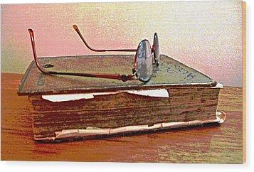 Well Read Wood Print by Barbara McDevitt