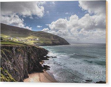 Western Coast Of Ireland Wood Print by Juergen Klust