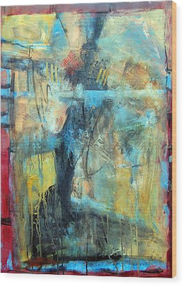 What Lies Beneath Wood Print by Ron Stephens