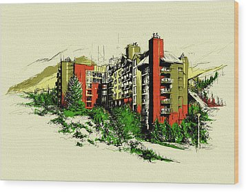 Whistler Art 004 Wood Print by Catf