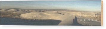 White Sands New Mexico Panorama Wood Print by Gregory Dyer