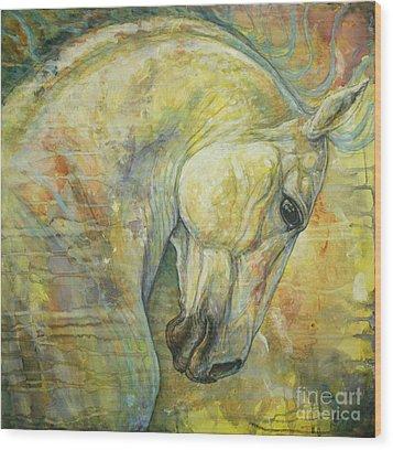 Wild Feel Wood Print by Silvana Gabudean