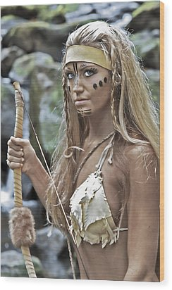 Wild Woman 1 Wood Print by Don Ewing