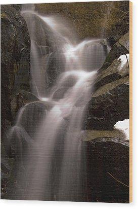 Wildcat Falls Wood Print by Bill Gallagher