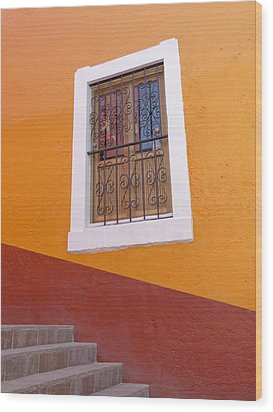 Window 1 Wood Print by Douglas J Fisher