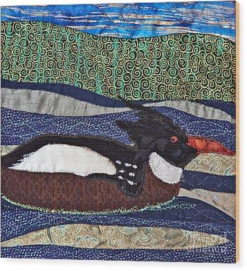 Winter Bird Wood Print by Susan Macomson