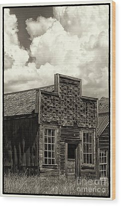 Withstanding The Years Wood Print by Sandra Bronstein