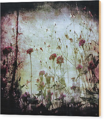 Wonderland Wood Print by Trish Mistric