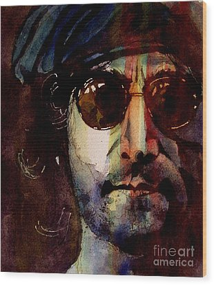 Working Class Hero Wood Print by Paul Lovering