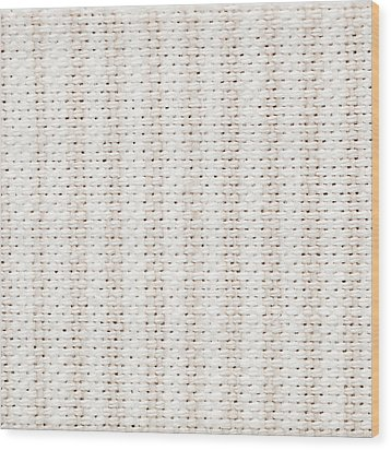 Woven Fabric Wood Print by Tom Gowanlock