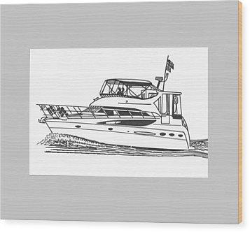 Yachting Good Times Wood Print by Jack Pumphrey