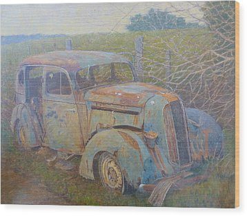 Yesteryear Catlins 1980s Wood Print by Terry Perham