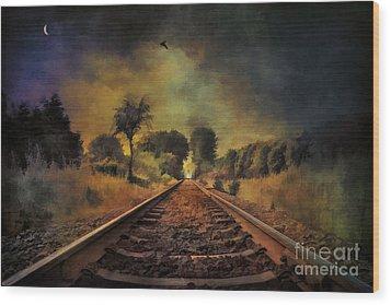 Hope Wood Print by Andrzej Szczerski