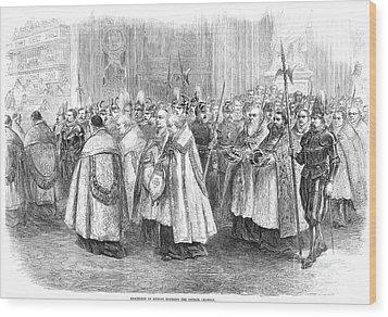 1st Vatican Council, 1869 Wood Print by Granger