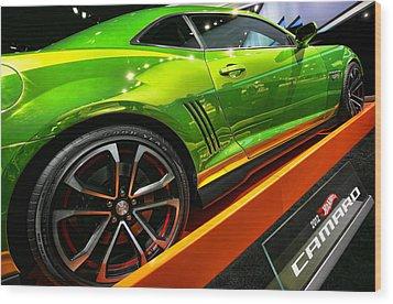 2012 Chevy Camaro Hot Wheels Concept Wood Print by Gordon Dean II