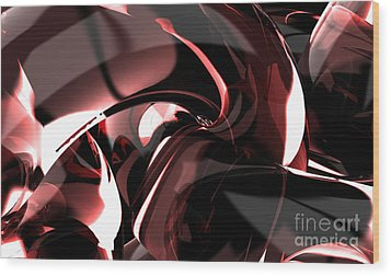 3d Abstract Background Wood Print by Rattanapon Muanpimthong