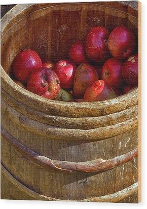Apple Harvest Wood Print by Joann Vitali