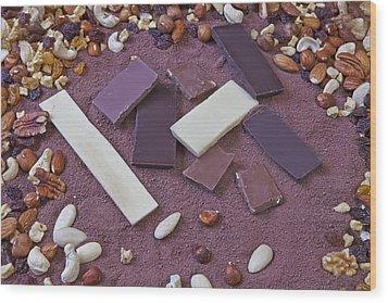 Chocolate Wood Print by Joana Kruse