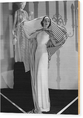 Dolores Del Rio, Ca. 1930s Wood Print by Everett