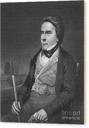 Douglas William Jerrold Wood Print by Granger