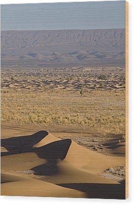 Erg Chigaga, Sahara Desert, Morocco, Africa Wood Print by Ben Pipe Photography
