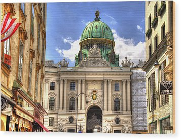 Hofburg Palace - Vienna Wood Print by Jon Berghoff