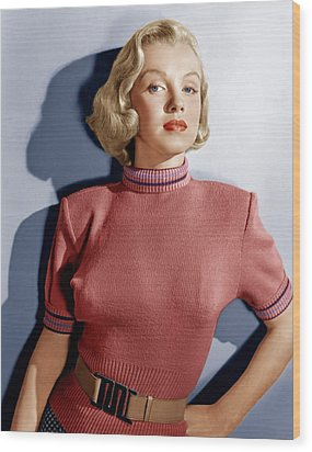 Home Town Story, Marilyn Monroe, 1951 Wood Print by Everett