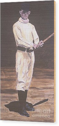 John Mcgraw Wood Print by Ralph LeCompte