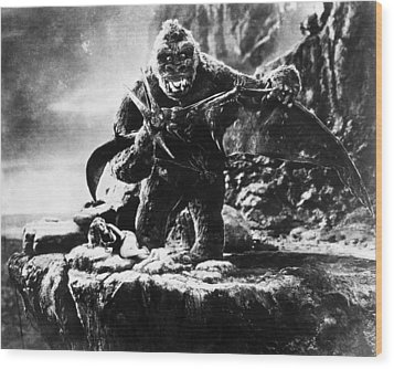 King Kong, 1933 Wood Print by Granger