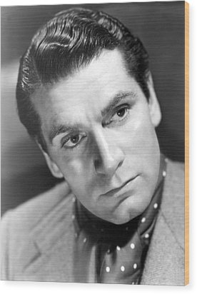 Laurence Olivier, 1940 Wood Print by Everett