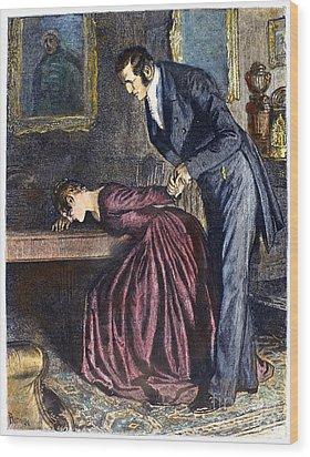 Love, 1886 Wood Print by Granger