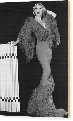 Mae West, Paramount Pictures, Ca. Early Wood Print by Everett