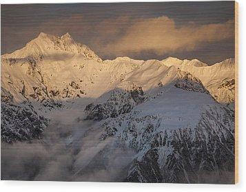 Mount Rolleston At Dawn Arthurs Pass Np Wood Print by Colin Monteath