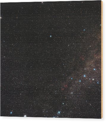 North Celestial Pole Wood Print by Eckhard Slawik